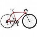 420-RD SCALPEL 700x28C クロスバイク 7段変速 サラマンダーレッド×シュプリームブラック  【大型商品につき代引不可・時間指定不可・返品不可】