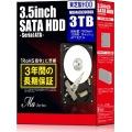 3.5インチHDD 3TB デスクトップモデル MD04ACA300BOX