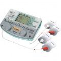 電気治療器 EW6021P (シルバー調) 4枚パッドの4極マルチパルス
