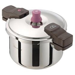 あなたと私の圧力魔法鍋両手5.5L ※ IH対応 IH (100V/200V)とガス火対応 写真1