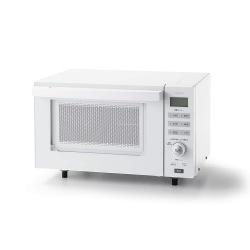センサー付フラットオーブンレンジ 18L ホワイト 写真1