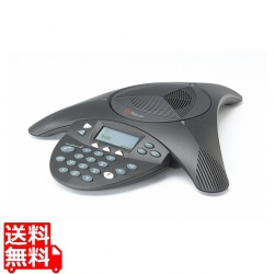 ポリコム製 電話会議システム SoundStation2 拡張マイク接続不可 / ディスプレイ有り ※Skype対応モデル 写真1