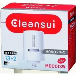 クリンスイ モノ シリーズ用 交換カートリッジ  スーパーハイグレード除去物質13+2(2個入)   正規品 MD 浄水器 写真1