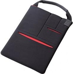 タブレット汎用バッグインバッグ/マルチポケット/8.5-10.5インチ/ブラック 写真1
