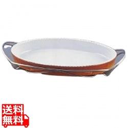 SAシャトレ 小判グラタンセット 13-PC200-36 茶 写真1