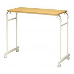 伸縮式ベッドテーブル ナチュラル 写真1