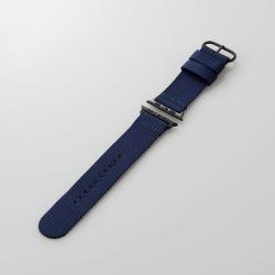 Apple Watch 44/42mm/ファブリックバンド/ブルー 写真1