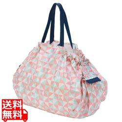 マーナ コンパクトバッグ L トライアングル | エコバッグ 買い物 レジかご お出かけ サイドバッグ スーパー コンパクト 写真1