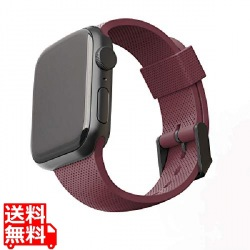 UAG製 U by UAG DOT オーベルジーヌ Apple Watch 44/42mm用バンド 写真1