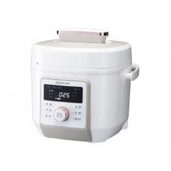 マイコン電気圧力鍋 ホワイト 調理容量:約2.0L 写真1