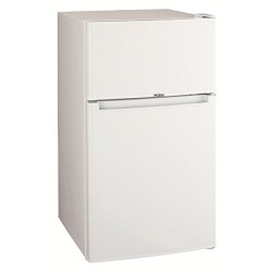 85L 2ドア冷蔵庫(直冷式)ホワイト【右開き】 写真1