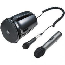ワイヤレスマイク付き拡声器スピーカー 写真1