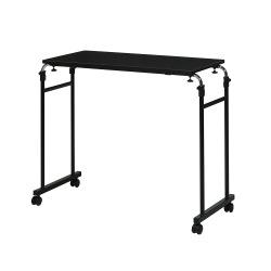 永井興産 ( NAGAIKOSAN ) 伸縮式 ベッド テーブル ブラック 写真1