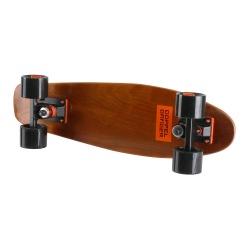 ミニクルーザースケートボード ( ブラウン ) 写真1