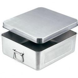 18-8保温・保冷バットマイルドボックスフライ用10L(蓋付)005M 業務用 写真1