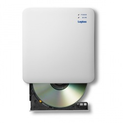 [Logitec(ロジテック)] 5GHz WiFi CD録音ドライブ LDR-PS5GWU3RWH 写真1