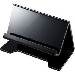 タブレット・スマートフォン用デスクトップスタンド(ブラック) 写真1