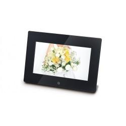 7インチ IPS液晶 デジタルフォトフレーム ブラック 写真1