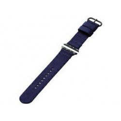 Apple Watch 40/38mm/ファブリックバンド/ブルー 写真1