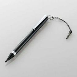 極細タッチペン ロングタイプ/ブラック 写真1