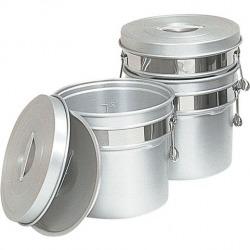 アルマイト段付二重食缶 247R (10l) 業務用 写真1