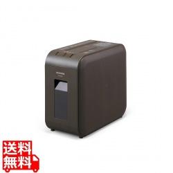 超静音シュレッダー マイクロカット ブラウン 写真1