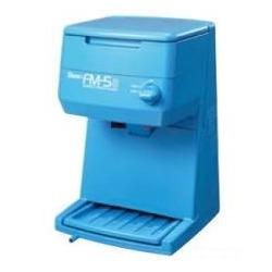 電動式キューブアイスシェーバー FM-5S ブルー 業務用 写真1