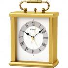 金属枠置時計