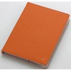 タブレット汎用ブックタイプケース/レザー/7.0〜8.4インチ/ブラウン