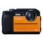 デジタルカメラ LUMIX FT7 (オレンジ)