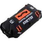 デュアルストレージツーリングバッグ 大容量 60リットル  DBT217 (ブラック×オレンジ) 【夜間指定は18-21時になります。】