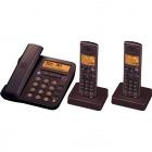 デジタルコードレス電話機 JD-G55CW ブラウン系 子機2台タイプ