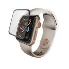 Apple Watch 40mm/フルカバーガラスフィルム/0.33mm/ブラック