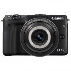ミラーレス一眼カメラ EOS M3(ブラック)・クリエイティブマクロ レンズキット EF-M28mm F3.5 IS STM付属