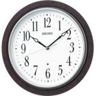 木枠スタンダード電波アナログ掛時計(濃茶) KX391B