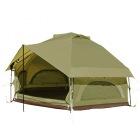 ニョキッとすぐにたつ 快適なワンタッチ寝室用テント KINOKO TENT キノコテント