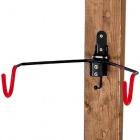 BIKE HANGER 4 壁掛け用ディスプレイフック (ブラック/レッド)