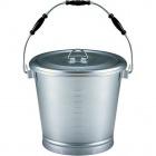 アルマイト 丸型一重食缶 215(14l) 業務用