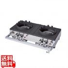 ガステーブルコンロ 業務用中華レンジ S-2225 LPガス用 業務用