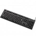 PS4用/メンブレン式キーボード/108キー/USB/L/ブラック
