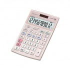 本格実務電卓 ( 12桁 ) ピンク