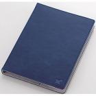 タブレット汎用ブックタイプケース/レザー/7.0〜8.4インチ/ブルー