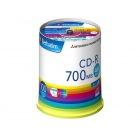 CD-R(Data) 700MB 48倍速 100枚スピンドル インクジェットプリンタ対応