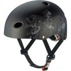 FR-KIDS FR・キッズ (エンブレムフラットブラック) キッズ用自転車ヘルメット