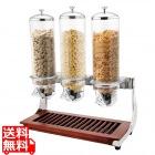 SX シリアルディスペンサー 木台付 トリプル U07-0430