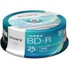 ビデオ用BD-R 追記型 片面1層25GB 4倍速 ホワイトプリンタブル 30枚スピンドル