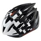 ヘルメット DH006 ブラック/ホワイト  | 自転車 大人用 ロード ロードバイク クロス スポーツ 通勤 通学 マウンテン マウンテンバイク