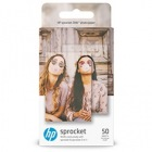HP Sprocket用フォト用紙(背面シール式)50枚