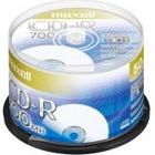 データ用 CD-R 700MB 48倍速対応 プリンタブル ホワイト  50枚入