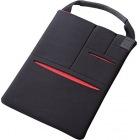 タブレット汎用バッグインバッグ/マルチポケット/8.5-10.5インチ/ブラック